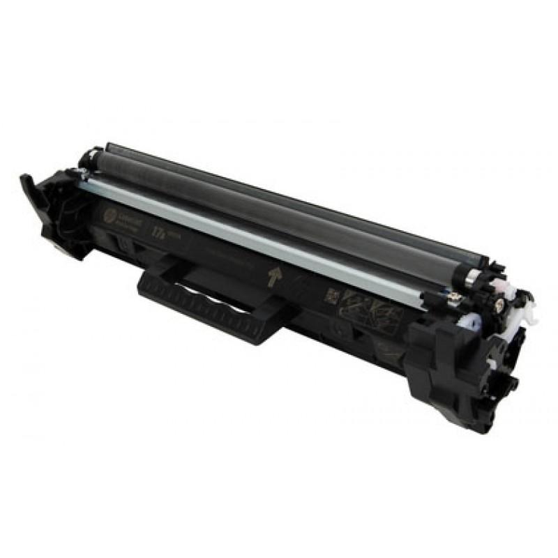 Зареждане на тонер касета 17A CF217A за HP LaserJet Pro M102/ M130 MFP