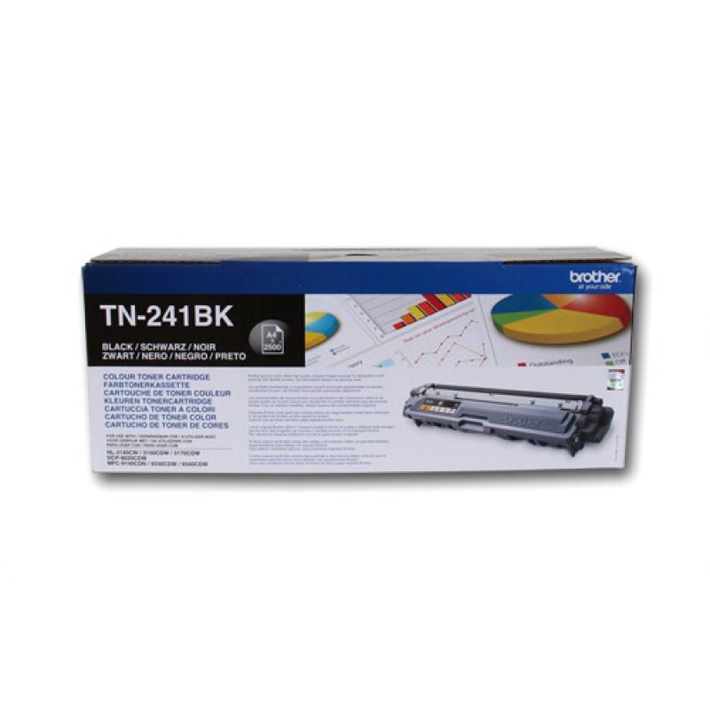 Оригинална тонер касета TN-241BK за Brother HL-3140/ HL-3170/ DCP-9015/ DCP-9020/ MFC-9140/ MFC-9340