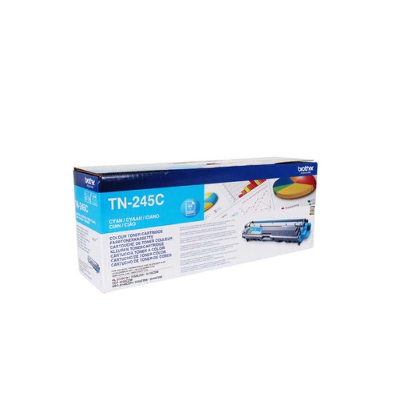 Оригинална тонер касета TN-245C за Brother HL-3140/ HL-3170/ DCP-9015/ DCP-9020/ MFC-9140/ MFC-9340 CYAN