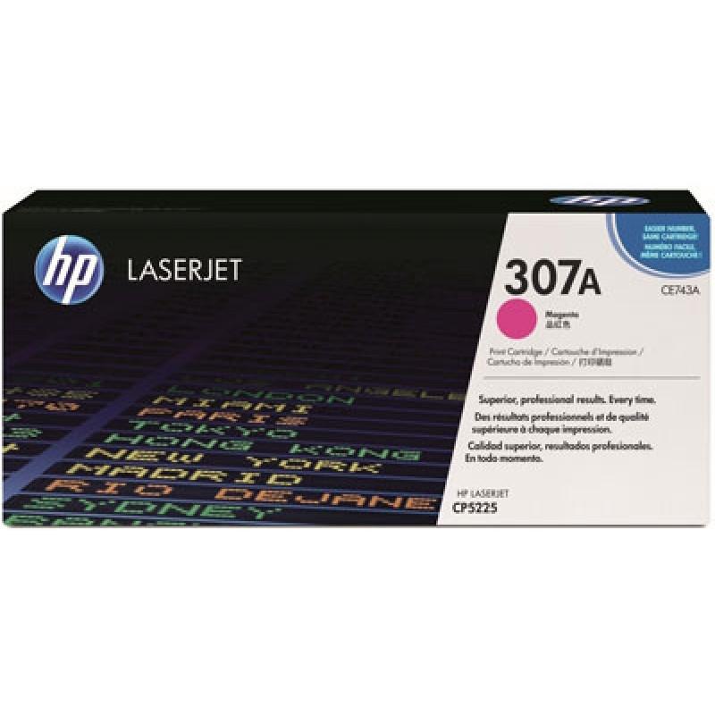Оригинална тонер касета 307A CE743A за HP Color LaserJet Pro CP5225 MAGENTA