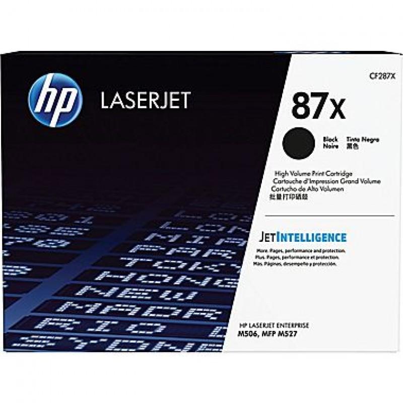 Оригинална тонер касета 87X CF287X за HP LaserJet Pro M501 Enterprise M506/ M527