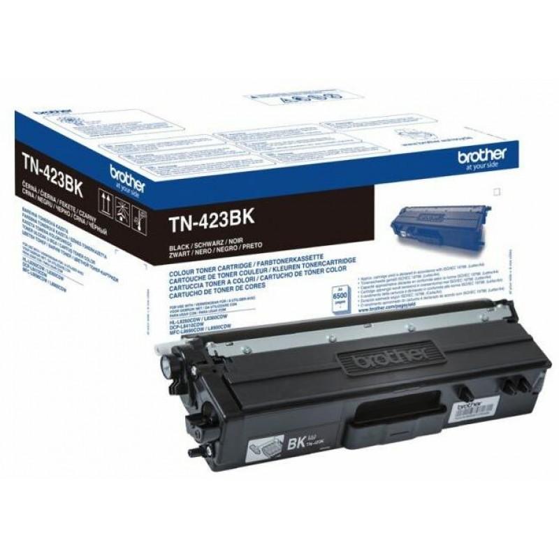 Оригинална тонер касета TN-423BK BLACK за Brother HL-L8260/ HL-L8360/ DCP-L8410/ MFC-L8690/ MFC-L8900 за 6500 страници