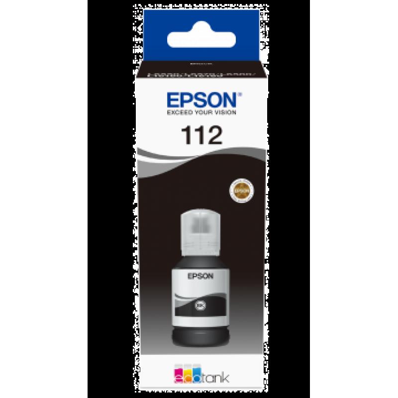 Мастило Epson 112 EcoTank Pigment Black ink bottle