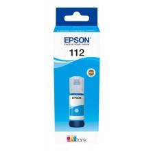Мастило Epson 112 EcoTank Pigment Cyan ink bottle