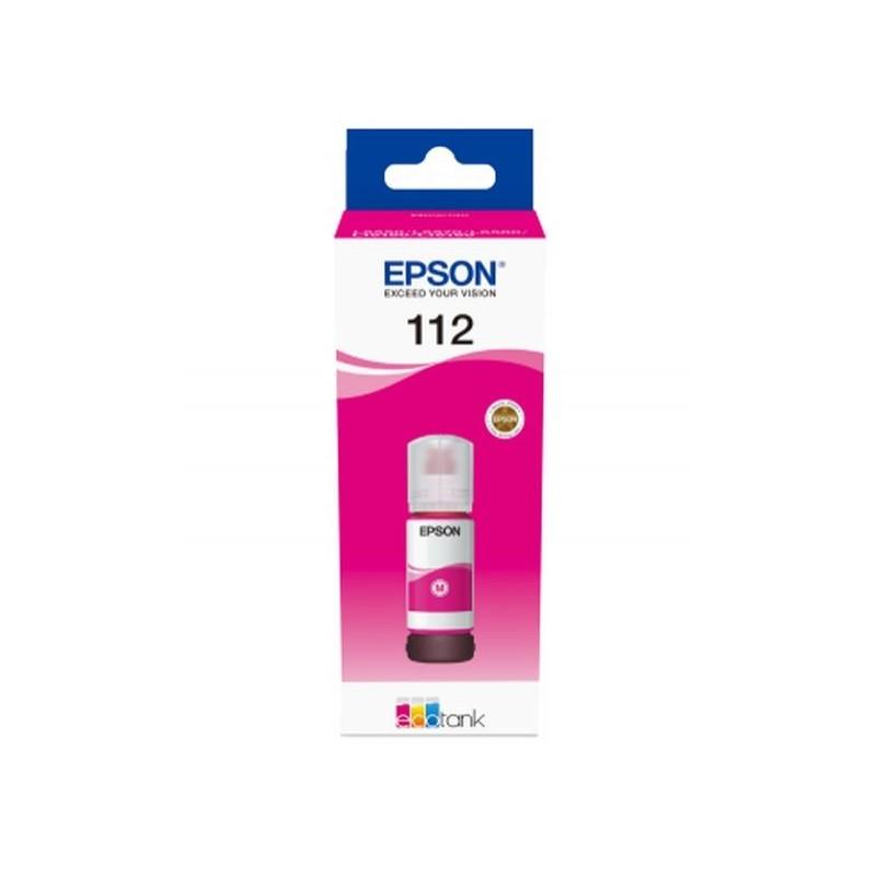 Мастило Epson 112 EcoTank Pigment Magenta ink bottle