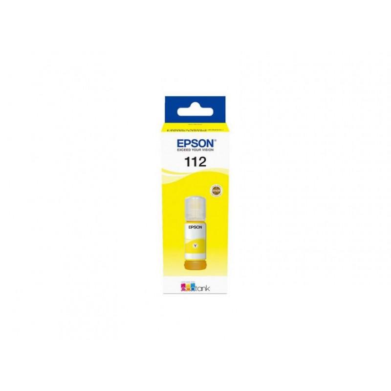 Мастило Epson 112 EcoTank Pigment Yellow ink bottle