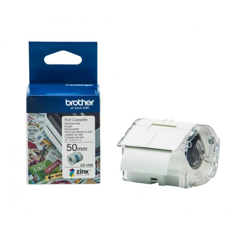 Ролка за пълноцветен печат за Brother VC-500W 50mm / 5m