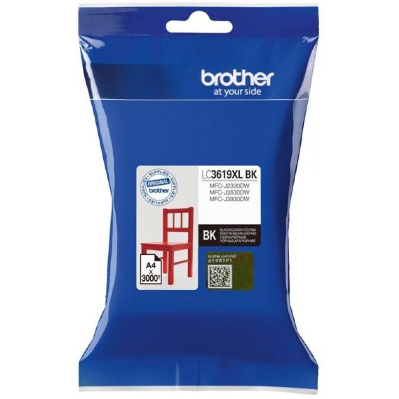 Патрон с мастило Brother LC-3619XL за MFC-J2330DW/ MFC-J3530DW/ MFC-J3930DW Black Ink Cartridge High Yield