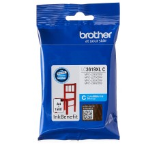 Патрон с мастило Brother LC-3619XL за MFC-J2330DW/ MFC-J3530DW/ MFC-J3930DW Cyan Ink Cartridge High Yield