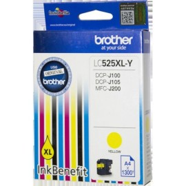 Патрон с мастило Brother LC-529XL за DCP-J100/ DCP-j105/ MFC-J200 Yellow Ink Cartridge High Yield