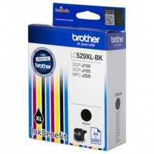 Патрон с мастило Brother LC-529XL за DCP-J100/ DCP-j105/ MFC-J200 Black Ink Cartridge High Yield