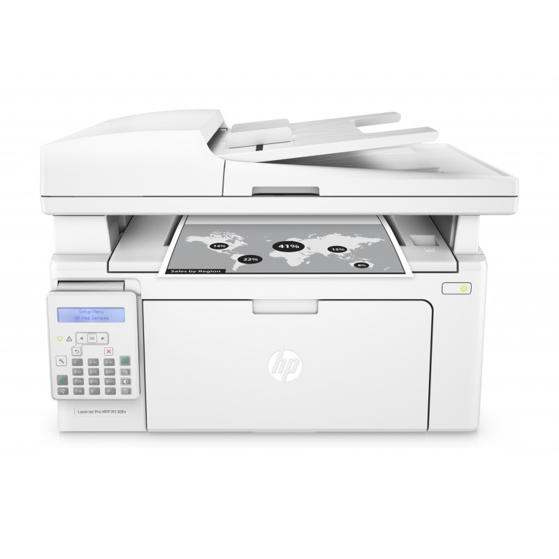 Лазерно многофункционално устройство HP LaserJet Pro MFP M130fn