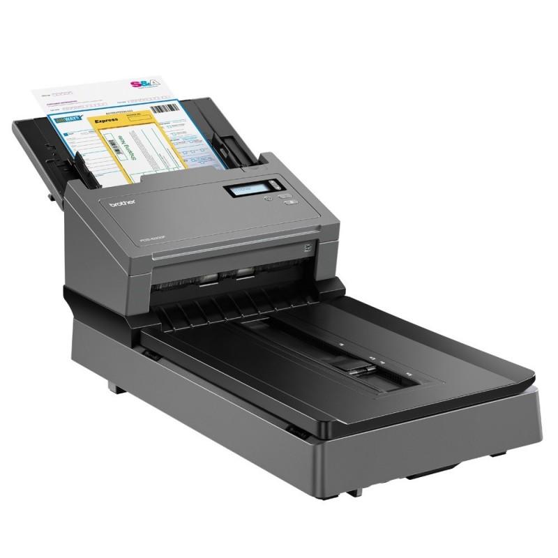 Високоскоростен документен скенер със плоско стъкло и автоматично листоподаващо устройство Brother PDS-5000F