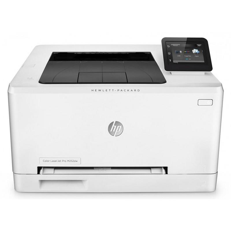 Цветен лазерен принтер HP Color LaserJet Pro M254dw