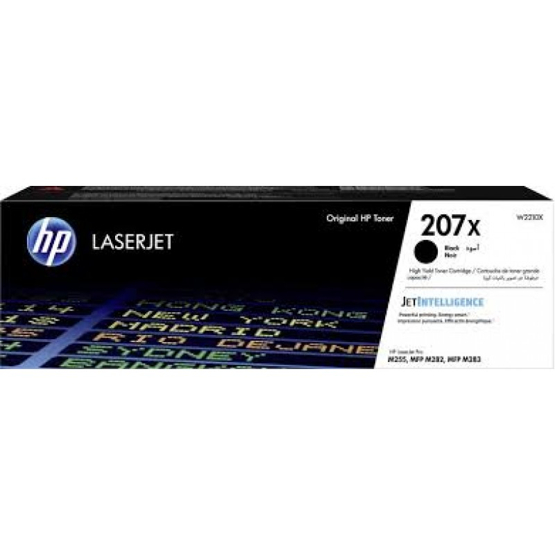 Оригинална тонер касета 207X за HP Color LaserJet Pro M255/ M282/ M283 BLACK