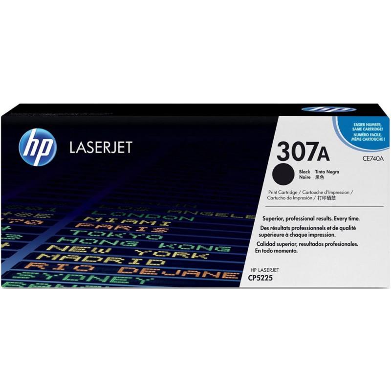 Оригинална тонер касета 307A CE740A за HP Color LaserJet Pro CP5225 BLACK