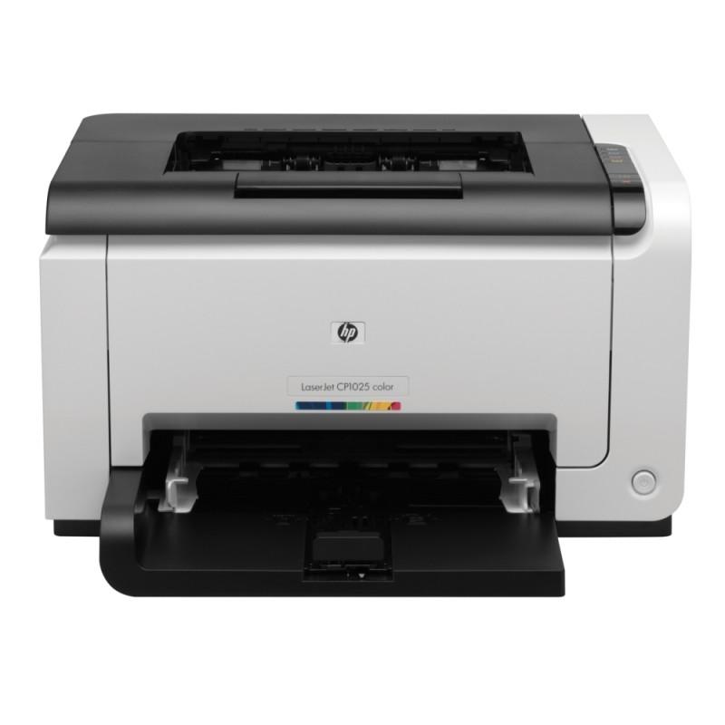 Цветен лазерен принтер HP LaserJet CP1025nw