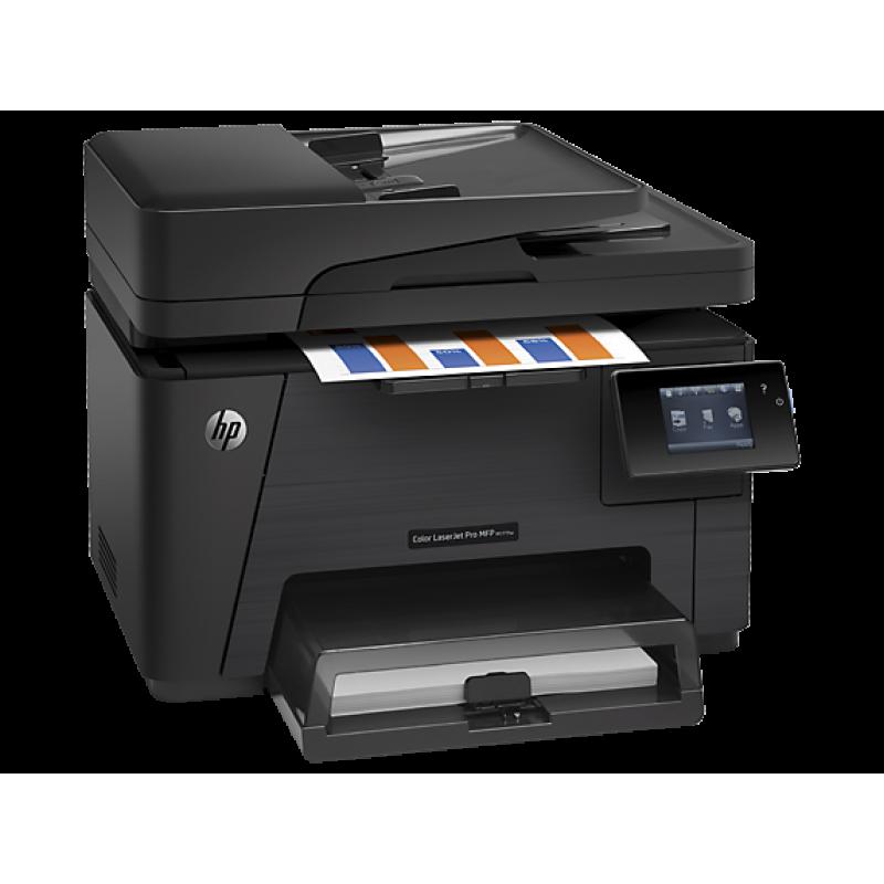 Цветно многофункционално устройство HP Color LaserJet Pro MFP M177fw