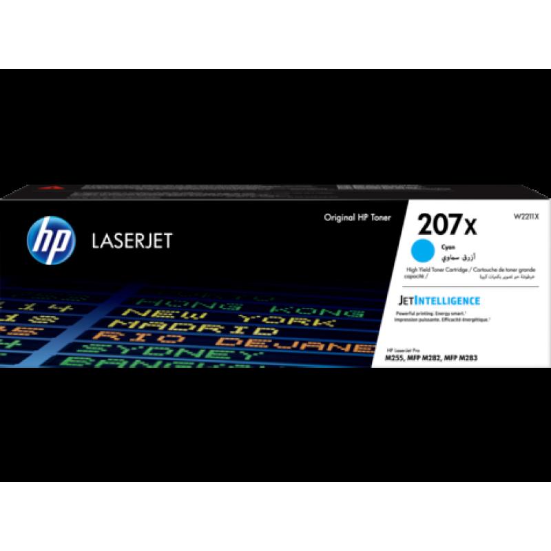 Оригинална тонер касета 207X за HP Color LaserJet Pro M255/ M282/ M283 CYAN