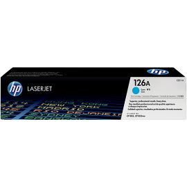 Оригинална тонер касета 126A за HP Color LaserJet Pro CP1025/ M175/ M275 CYAN