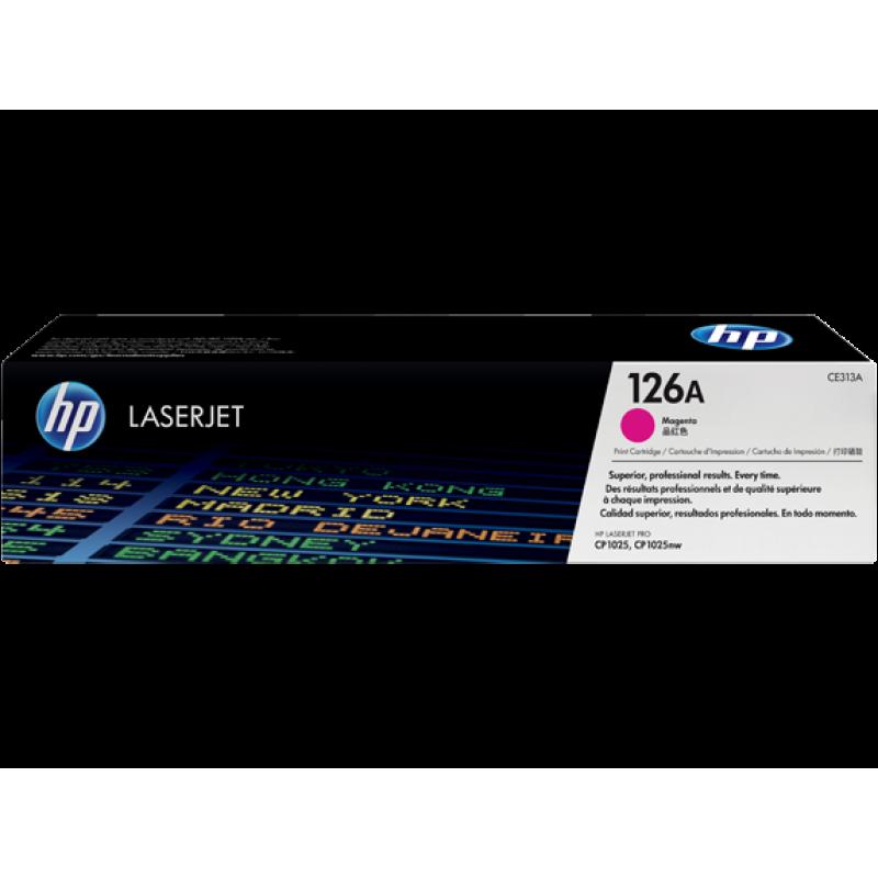 Оригинална тонер касета 126A за HP Color LaserJet Pro CP1025/ M175/ M275 MAGENTA