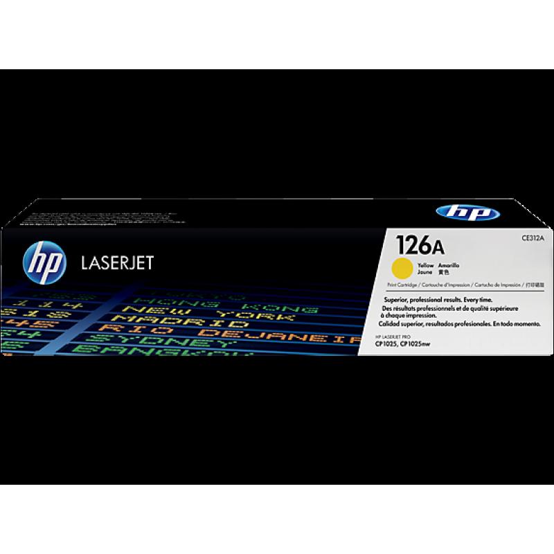 Оригинална тонер касета 126A за HP Color LaserJet Pro CP1025/ M175/ M275 YELLOW