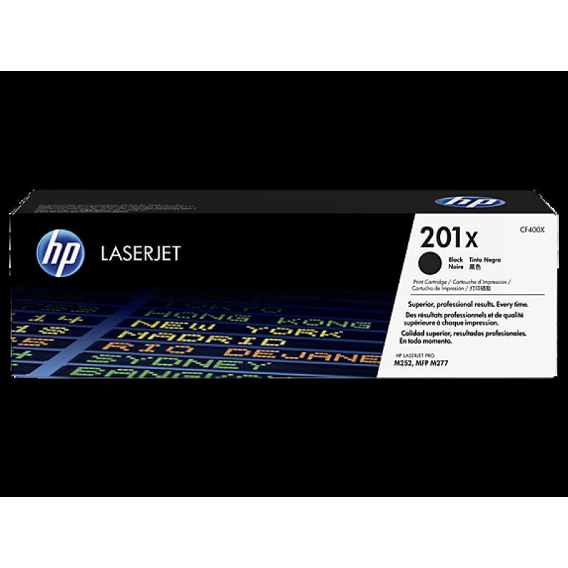 Оригинална тонер касета 201X за HP Color LaserJet Pro M252n/ M274/ M277 BLACK
