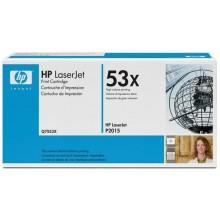 Оригинална тонер касета 53X Q7553X за HP LaserJet P2015/ P2014/ M2727
