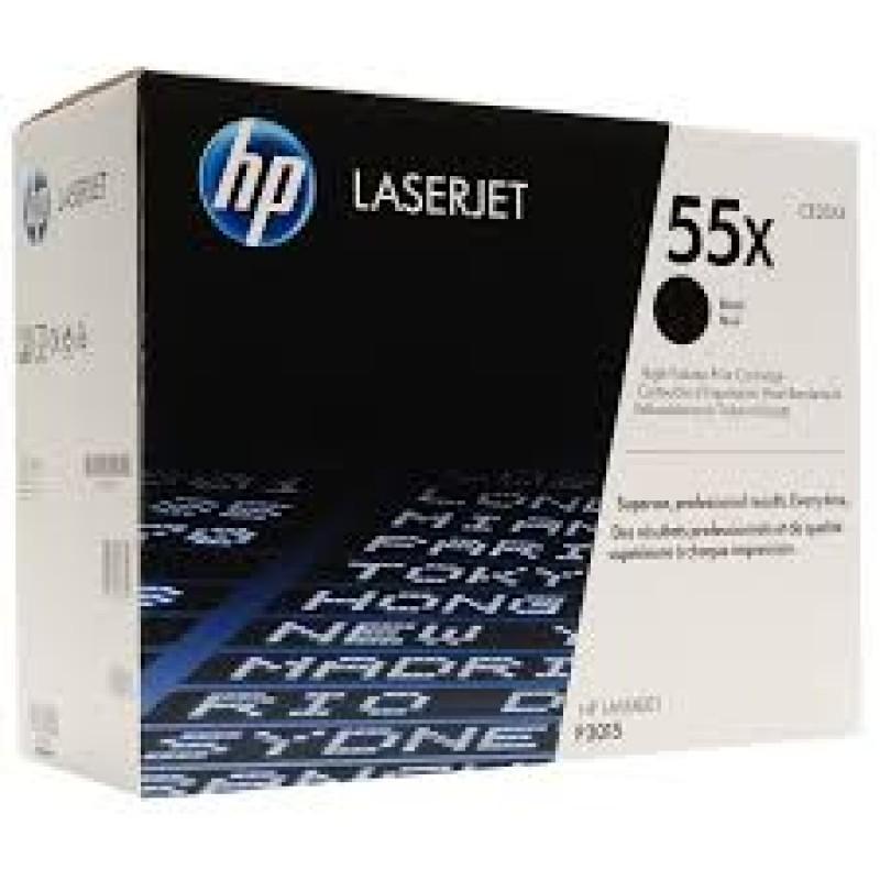 Оригинална тонер касета 55X CE255X за HP LaserJet P3015/ LaserJet Pro M251/ LaserJet Enterprise 500 MFP M525dn
