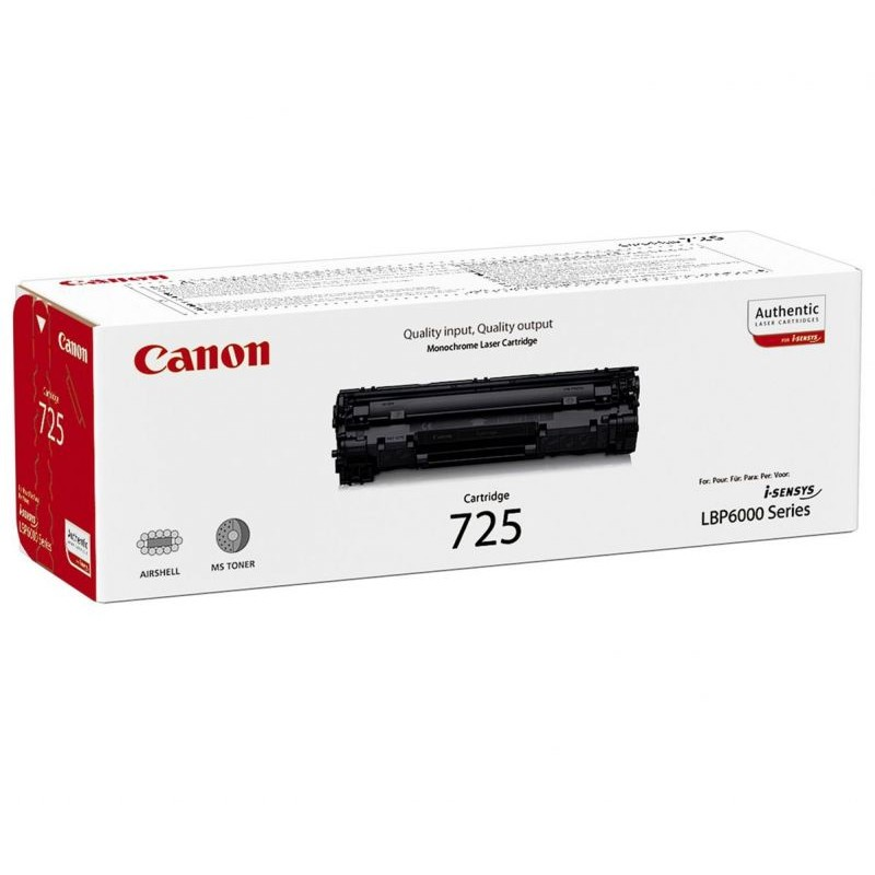 Оригинална тонер касета Cartridge 725 за Canon i-SENSYS LBP6000/ LBP6020/ LBP6030/ MF3010