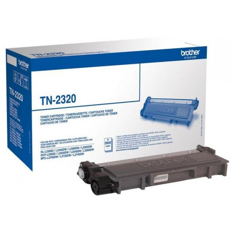 Оригинална тонер касета TN-2320 за Brother HL-L2300/ L2340/ L2360/ DCP-L2500/ L2520/ L2540/ MFC-L2700/ L2720