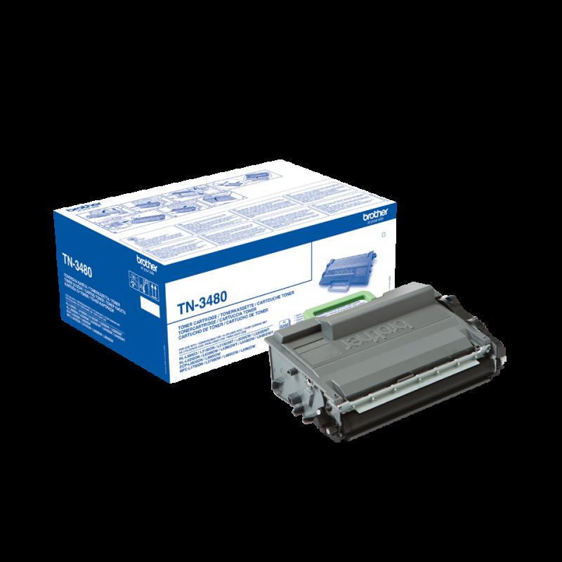 Оригинална тонер касета TN-3480 за Brother HL-L5000/ HL-L5500/ HL-L5100/ HL-L5200/ HL-L6250/ HL-L6300/ HL-L6400/ DCP-L5500/ DCP-L6600/ MFC-L5700/ MFC-L5750/ MFC-L6800