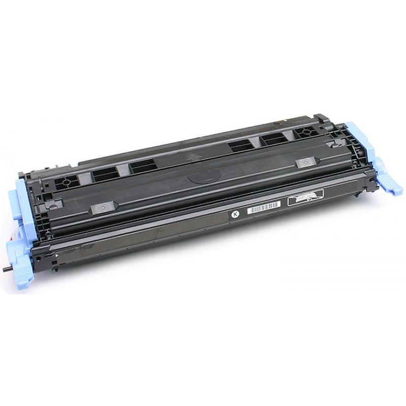 Рециклиране на тонер касета 124A Q6000A за цветен лазерен принтерHP Color LaserJet 1600/ 2600/ 2605 BLACK