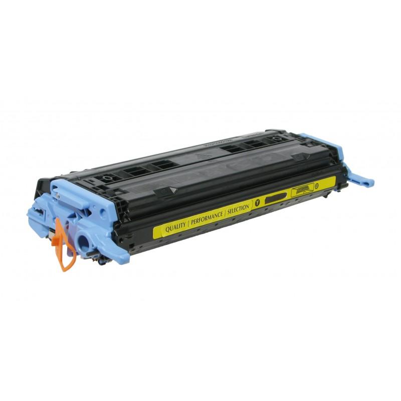 Рециклиране на тонер касета 124A Q6002A за цветен лазерен принтерHP Color LaserJet 1600/ 2600/ 2605 YELLOW
