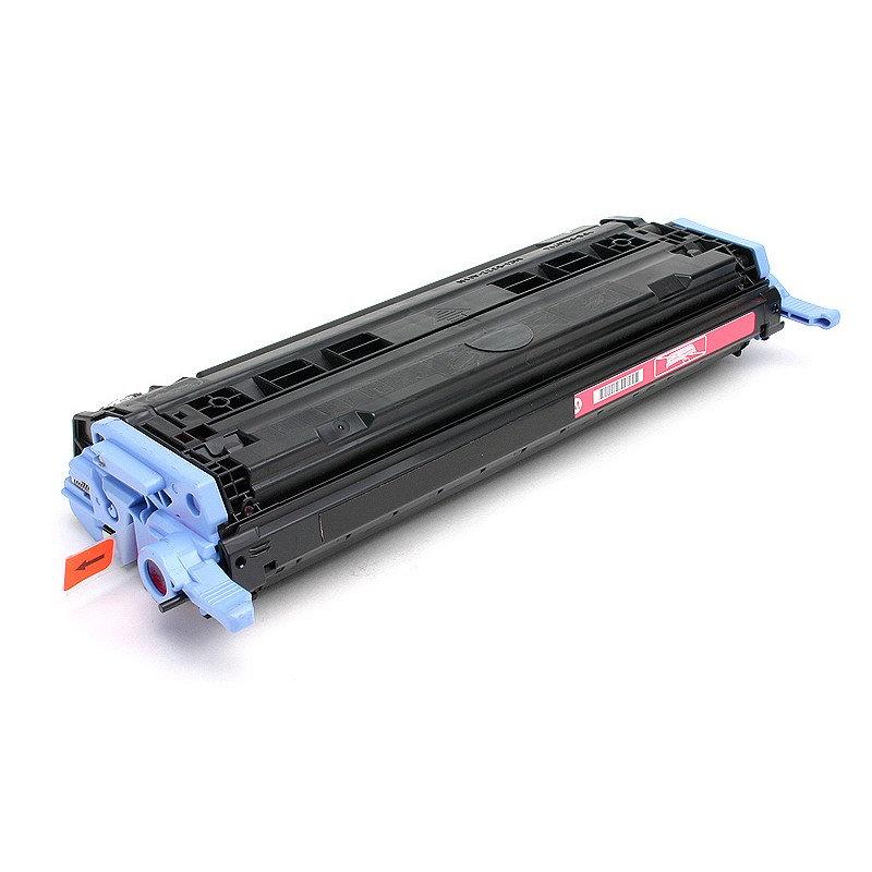 Рециклиране на тонер касета 124A Q6003A за цветен лазерен принтерHP Color LaserJet 1600/ 2600/ 2605 MAGENTA