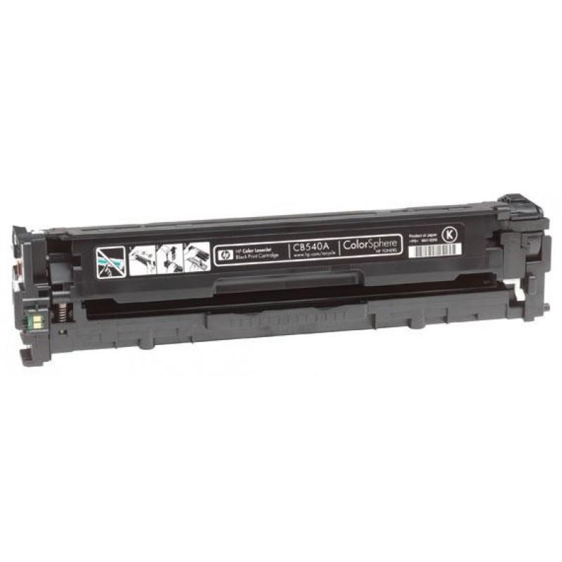 Рециклиране на тонер касета 125A CB540A за цветен лазерен принтер HP Color LaserJet CP1215/ CP1515/ CM1312 BLACK