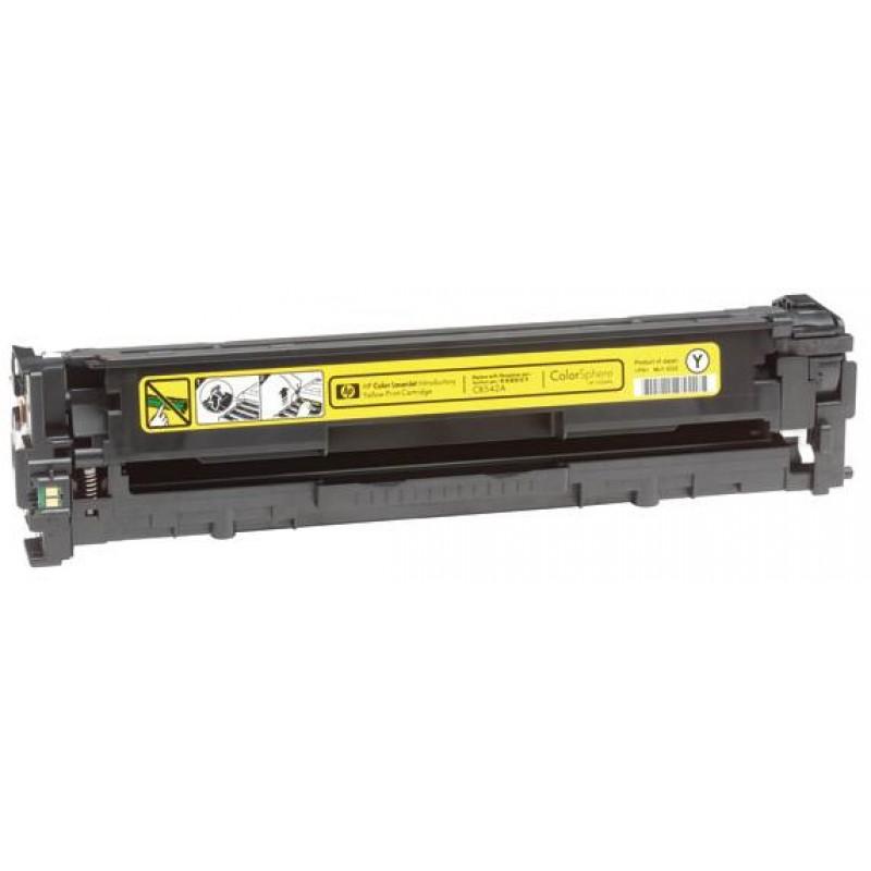Рециклиране на тонер касета 125A CB542A за цветен лазерен принтер HP Color LaserJet CP1215/ CP1515/ CM1312 YELLOW