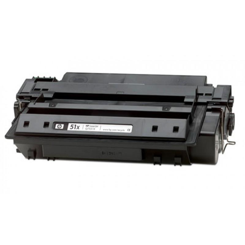 Рециклиране на тонер касета 51X Q7551X за HP LaserJet P3005/ M3035/ M3027