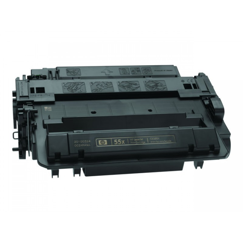 Рециклиране на тонер касета 55X CE255X за HP LaserJet P3015/ LaserJet Pro M251/ LaserJet Enterprise 500 MFP M525dn