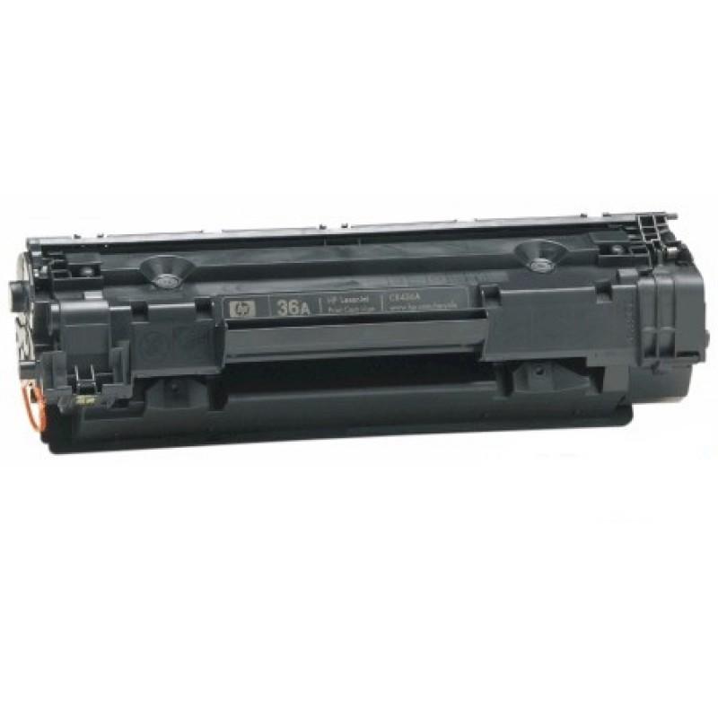 Зареждане на тонер касета 36A за HP LaserJet P1505/ M1522/ M1120