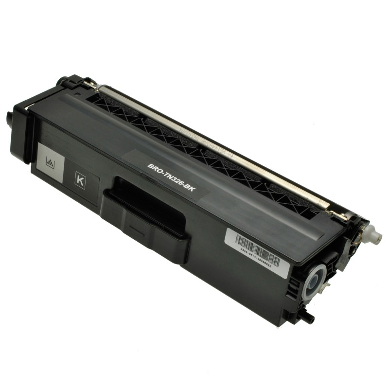 Зареждане на тонер касета TN-326BK за цветен принтер Brother HL-L8250/ L8350, DCP-L8400/ L8450, MFC-L8650/ L8850 BLACK