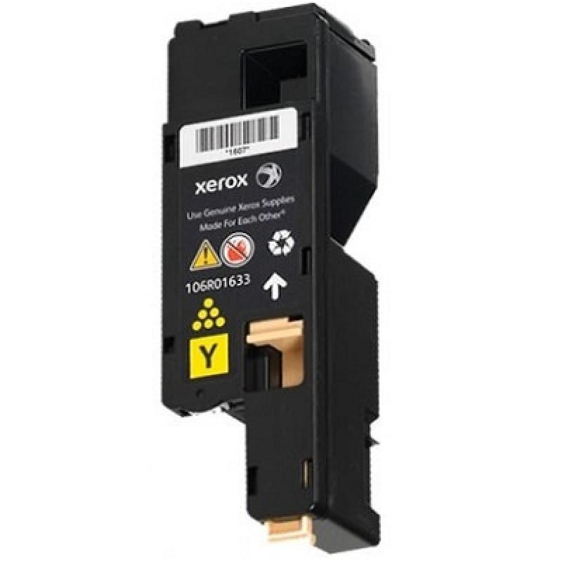Зареждане на тонер касета за цветен принтер Xerox Phaser 6020/ 6022/ WC 6025/ 6027 YELLOW